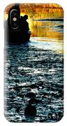 Fishing In The Pond IPhone Case