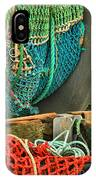 Fishing Net Portrait IPhone Case
