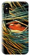 Fishing  Rope  IPhone Case by Colette V Hera Guggenheim