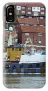 Fishing Trawler - Whitby IPhone Case