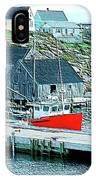 Fishing Village IPhone Case