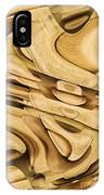 Fitted Wood IPhone Case