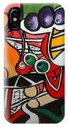 Five O' Clock With Picasso IPhone Case