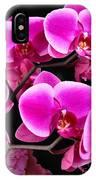 Five Orchids  IPhone Case