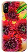 Five Red Dasies IPhone Case