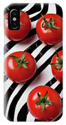 Five Tomatoes  IPhone Case