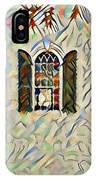 Five Windows Watercolor IPhone Case