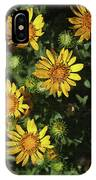 Five Yellow Flowers  IPhone Case