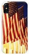 Flag Congress Hall Cape May Nj IPhone Case