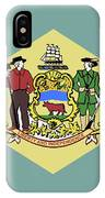Flag Of Delaware IPhone Case