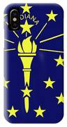 Flag Of Indiana IPhone Case