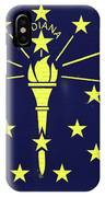 Flag Of Indiana Wall IPhone Case