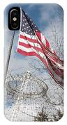 Flag Over Spokane Pavilion IPhone Case