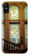 Flagler College Stained Glass IPhone Case