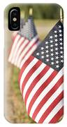 Flags Line Up IPhone Case