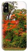 Flamboyant Forest IPhone Case