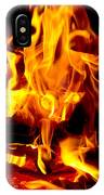 Flames Of Imagination IPhone Case