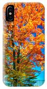 Flaming Maple - Paint IPhone Case