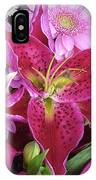 Flaming Tiger Lily IPhone Case
