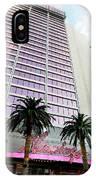 Flamingo Hotel Neon Sign Las Vegas IPhone Case