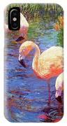 Flamingo Tangerine Dream IPhone Case