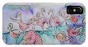 Flamingos  IPhone Case