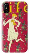 Flapper Cover, 1926 IPhone Case