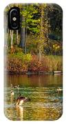 Flapping For Fall IPhone Case