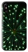 Flash Of Green IPhone Case