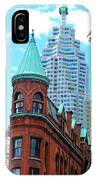 Flat Iron Building IPhone Case