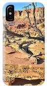 Flat Rock Along Scenic Drive IPhone Case
