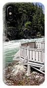 Flathead River Rapids IPhone Case