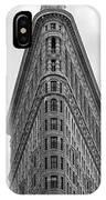 Flatiron Skies IPhone Case