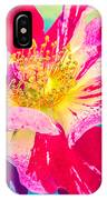Fleurie Peppermint Rose High Key IPhone Case
