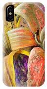 Fleurs De Lys 01 IPhone Case
