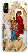 Flight Into Egypt Painting At Shepherds Field IPhone Case