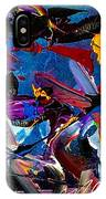 Flight Of A Huming Bird IPhone Case