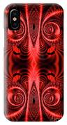Flight Of Fancy Red IPhone Case