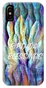 Floating Lotus - Birthday Blessings IPhone Case