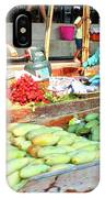 Floating Market In Thailand IPhone Case