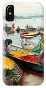 Floating Market IPhone Case