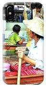 Floating Market Thailand IPhone Case