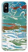 Floating On Blue 35 IPhone Case