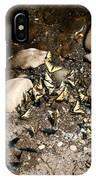Flock Of Butterflies Panarama IPhone Case