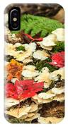 Floor Of The Forest In Fall IPhone Case