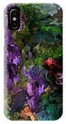 Flora Landscape 081015 IPhone Case