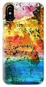 Rustic Landscape Abstract  D2131716 IPhone Case