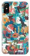 Floral Abstract Still Life IPhone Case