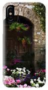 Floral Adorned Doorway IPhone Case