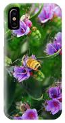 Floral Beehive IPhone Case
